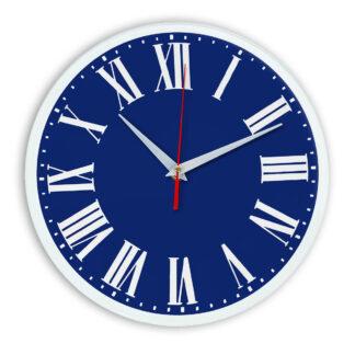 Настенные часы Ideal 964 синий темный