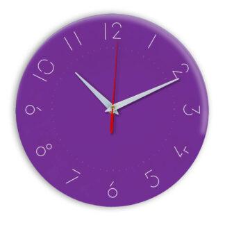 Настенные часы Ideal 994 фиолетовые