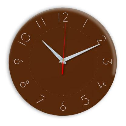 Настенные часы Ideal 994 коричневый