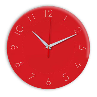 Настенные часы Ideal 994 красный