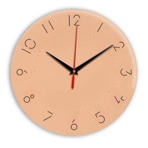 Настенные часы Ideal 994 оранжевый светлый
