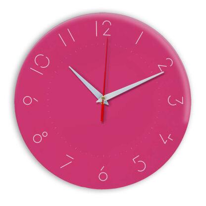 Настенные часы Ideal 994 розовые