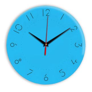 Настенные часы Ideal 994 синий светлый