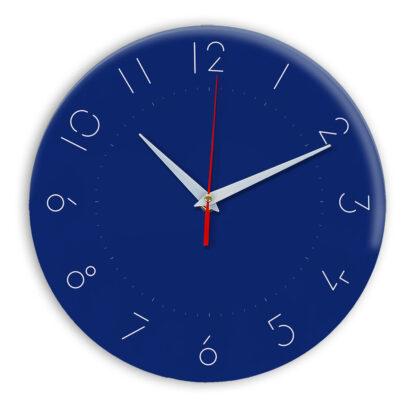 Настенные часы Ideal 994 синий темный