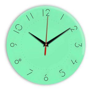 Настенные часы Ideal 994 светлый зеленый