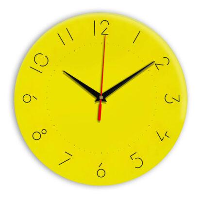 Настенные часы Ideal 994 желтые