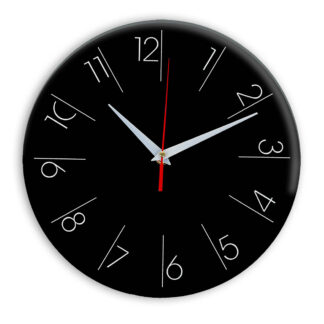 Настенные часы Ideal 995 черные