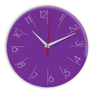 Настенные часы Ideal 995 фиолетовые