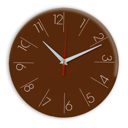 Настенные часы Ideal 995 коричневый