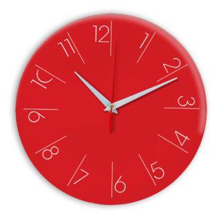 Настенные часы Ideal 995 красный