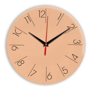 Настенные часы Ideal 995 оранжевый светлый