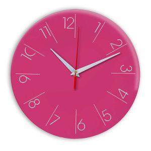 Настенные часы Ideal 995 розовые
