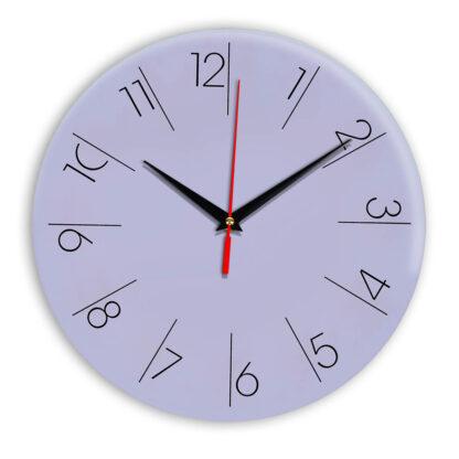 Настенные часы Ideal 995 сиреневый светлый