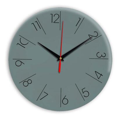Настенные часы Ideal 995 серо синий