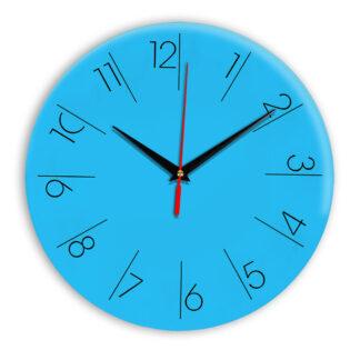 Настенные часы Ideal 995 синий светлый