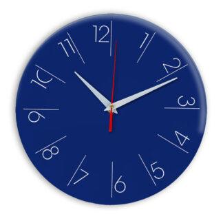 Настенные часы Ideal 995 синий темный
