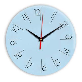 Настенные часы Ideal 995 светло-голубой