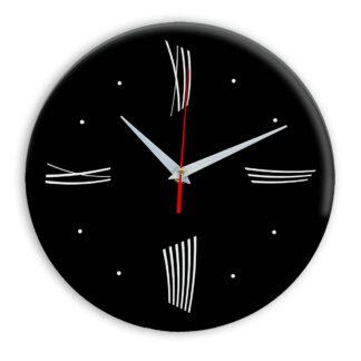 Настенные часы Ideal Modern-Roman-Wall черные