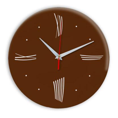 Настенные часы Ideal Modern-Roman-Wall коричневый