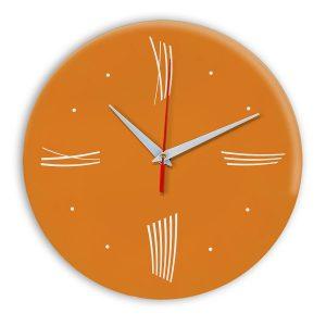 Настенные часы Ideal Modern-Roman-Wall оранжевый