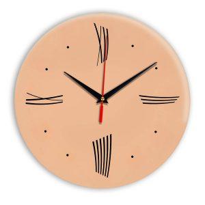 Настенные часы Ideal Modern-Roman-Wall оранжевый светлый