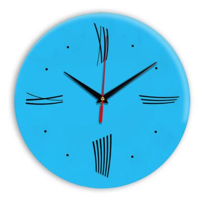 Настенные часы Ideal Modern-Roman-Wall синий светлый