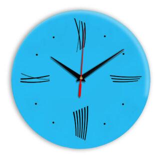 Настенные часы Ideal Modern-Roman-Wall сиреневый светлый