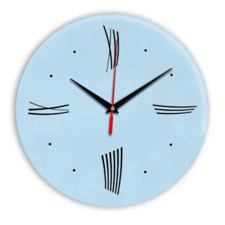 Настенные часы Ideal Modern-Roman-Wall светло-голубой