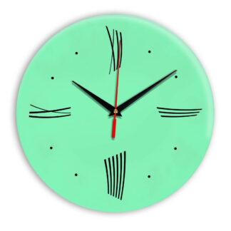 Настенные часы Ideal Modern-Roman-Wall светлый зеленый
