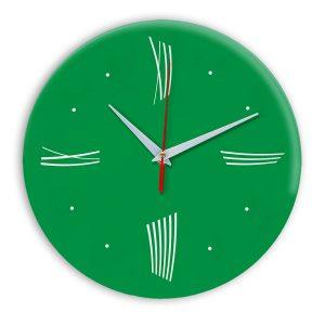 Настенные часы Ideal Modern-Roman-Wall зеленый