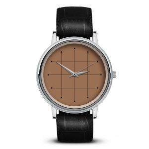 Наручные часы Идеал 42 коричневый светлый