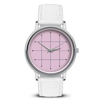 Наручные часы Идеал 42 розовые светлый