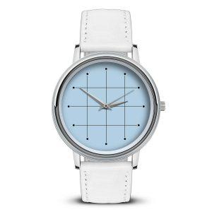 Наручные часы Идеал 42 светло-голубой