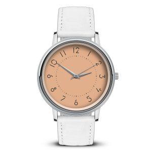 Наручные часы Идеал 44 оранжевый светлый