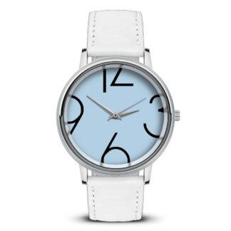 Наручные часы Идеал 45 светло-голубой