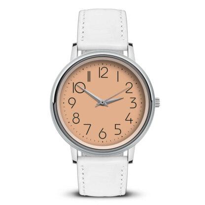 Наручные часы Идеал 46 оранжевый светлый