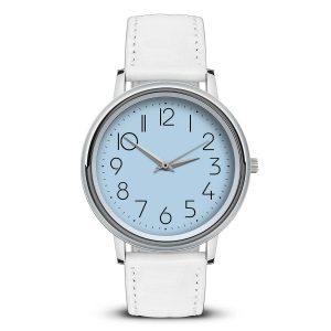 Наручные часы Идеал 46 светло-голубой