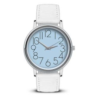 Наручные часы Идеал 47 светло-голубой