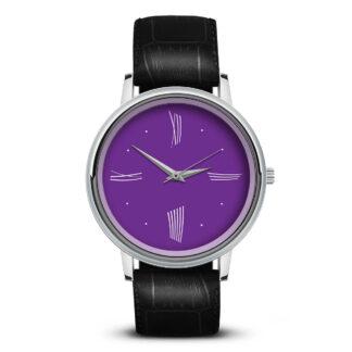 Наручные часы Идеал 52 фиолетовые