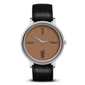 Наручные часы Идеал 52 коричневый светлый