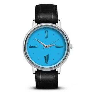 Наручные часы Идеал 52 синий светлый