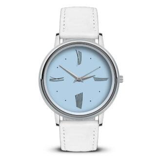 Наручные часы Идеал 52 светло-голубой