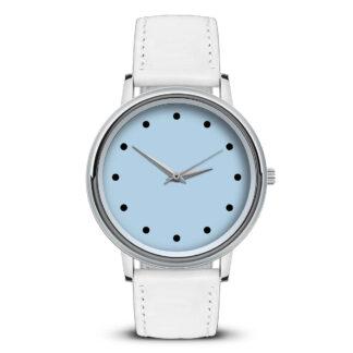 Наручные часы Идеал 55 светло-голубой
