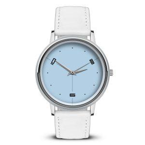 Наручные часы Идеал 57 светло-голубой