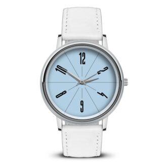Наручные часы Идеал 58 светло-голубой