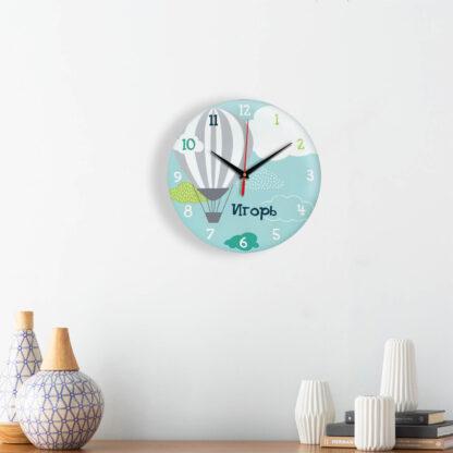 Подарок именной — Настенные часы с именем Игорь