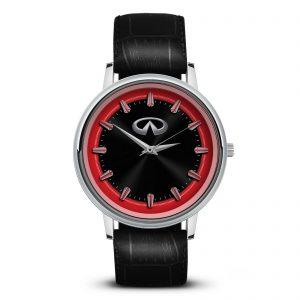 Infiniti 5 часы сувенир для автолюбителей
