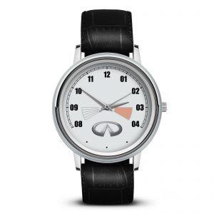 Infiniti 5 часы наручные с эмблемой
