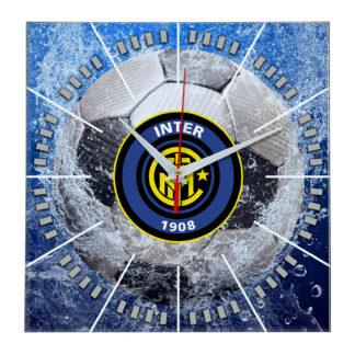 Настенные часы «Сувенир болельщиков Inter»