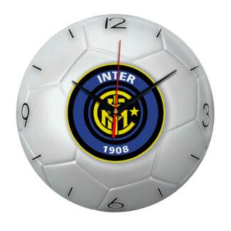 Настенные часы «Футбольный мяч Inter»